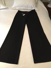 Black trousers by NEXT BRAND NEW with labels size 10