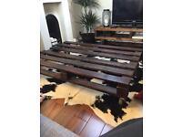 Handmade Reclaimed Pallet Table