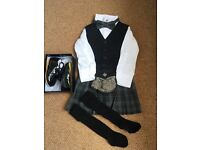 Baby / Toddler kilt complete outfit (12-18mths)