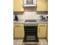 Hob oven and extractor fan.Fully working order,reason for sale is new kitchen