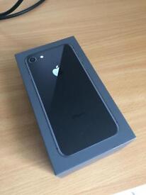 iPhone 8, 64gb, Jet black
