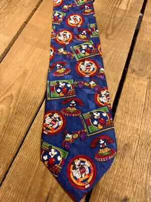 New 1930s Mens Fashion Ties Vintage 100% Silk Disney  ºoº Mickey Mouse 1930's Toys ºoº     Necktie Tie $29.99 AT vintagedancer.com