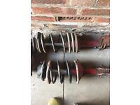 Subaru sti suspension & eibach lowering springs