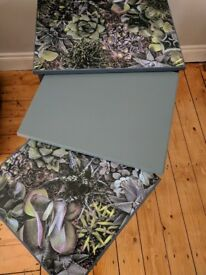 Unique Upcycled Mid Century Nesting Tables £75