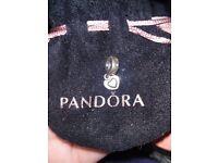 Genuine Pandora heart charm