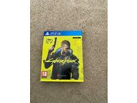 Cyberpunk 2077 ps4 used excellent condition