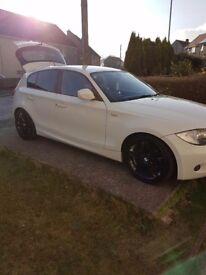 BMW 1 series M SPORT 118 2.0 59 plate