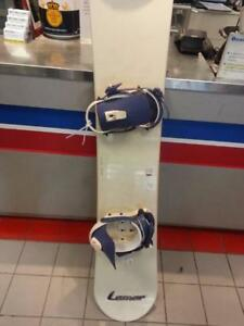 Lamar Snowboard and Bindings. We Sell Used Sporting Goods. (#43059)