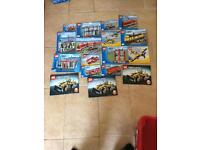 Lego city sets technic and others job lot