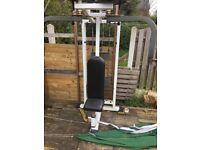 Commercial Chest press machine/ pull down machine