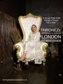 THRONE CHAIRS HIRE 💯% - 074640544056