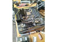 Asus TUF B350M-PLUS GAMING Motherboard, Socket AM4, AMD B350, DDR4, Micro ATX