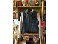 SMALL LEVI HOODED DENIM JACKET NYC