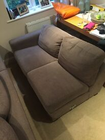2 seater sofa- Free- needs to go quick 😀