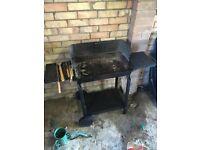 BBQ with kit, coal, tools etc