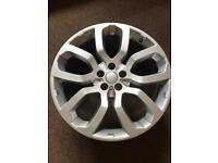 """Land Rover 22"""" alloy wheel"""