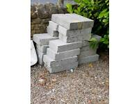 20 or so breeze blocks 7n