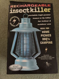 Rechargeable insect killer