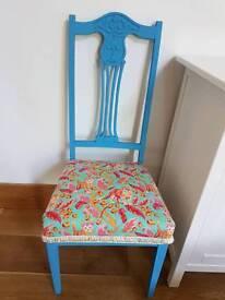 Reburbished shabby chic chair