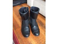 Men's waterproof motorcycle boots size 7