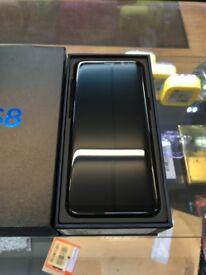 New Samsung S8 Black 64GB - Unlocked