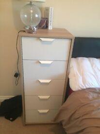 2 tall draws from Ikea