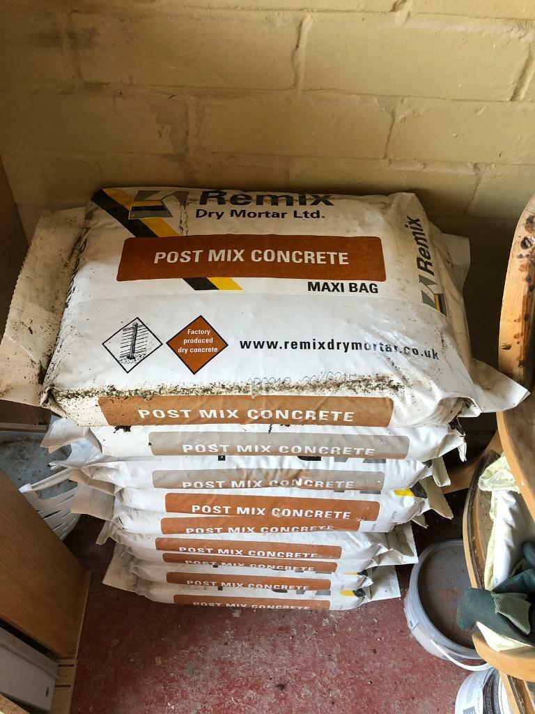 Post mix concrete 9 bags left  | in Exmouth, Devon | Gumtree