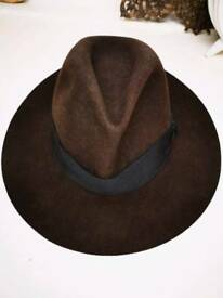 Laird trilby hat