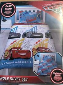 Disney Cars 3 Reversible bedding