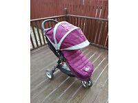 City mini jogger single stroller