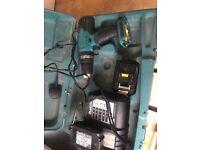 Makita 18 v cordless drill