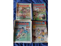 Tiger comics - 1984 - used condition