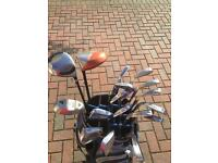 Golf club job lot