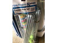 Canopy pole set