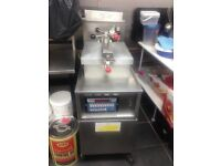 Henny Penny fastron gas chicken fryer