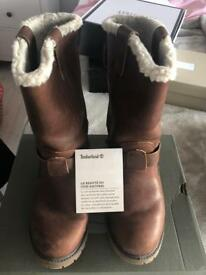 Timberland leather boots. Size 7