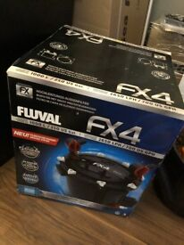 Fluval FX4 External Filter w/ Gravel Vac