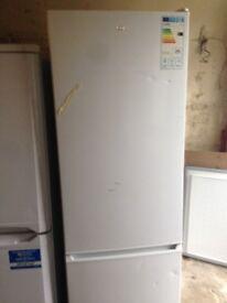 Logik white fridge 50/50....Ex display Free Delivery