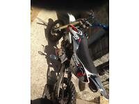 125cc demon stomp xlr pit bike