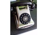 Phone retro style working order-chrome effect collect gateshead