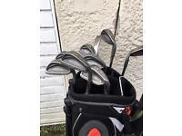 Golf Irons and bag