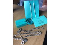 Tiffany necklace and bracelet