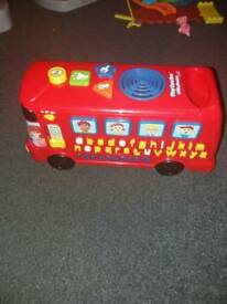 Vtech playbus with phonics