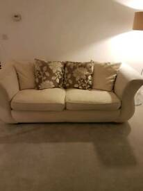 DFS Sofa, cuddle chair and foot stool
