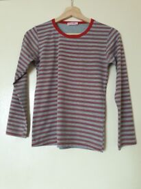 girls striped top for 14 year old