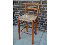 Wooden Stool Retro Furniture