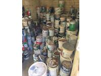 Paint Tins - used in various colours