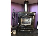 Mulberry Yates multi fuel stove