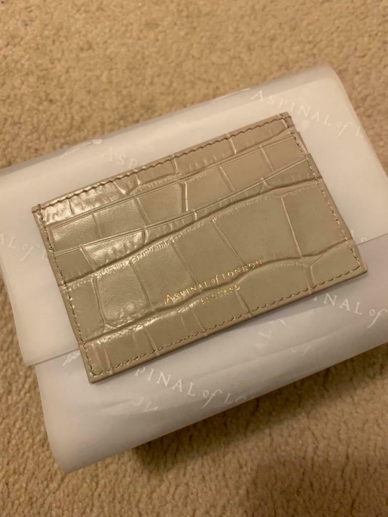 size 40 9e119 8a613 Aspinal of London leather Slim Credit Card Holder | in West End, London |  Gumtree