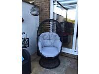 For sale swivel garden chair